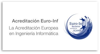 Acreditacion Euro-Inf Bachelor EQANIE