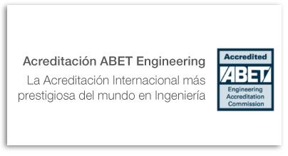 Acreditación Internacional en Ingeniería – ABET Engineering