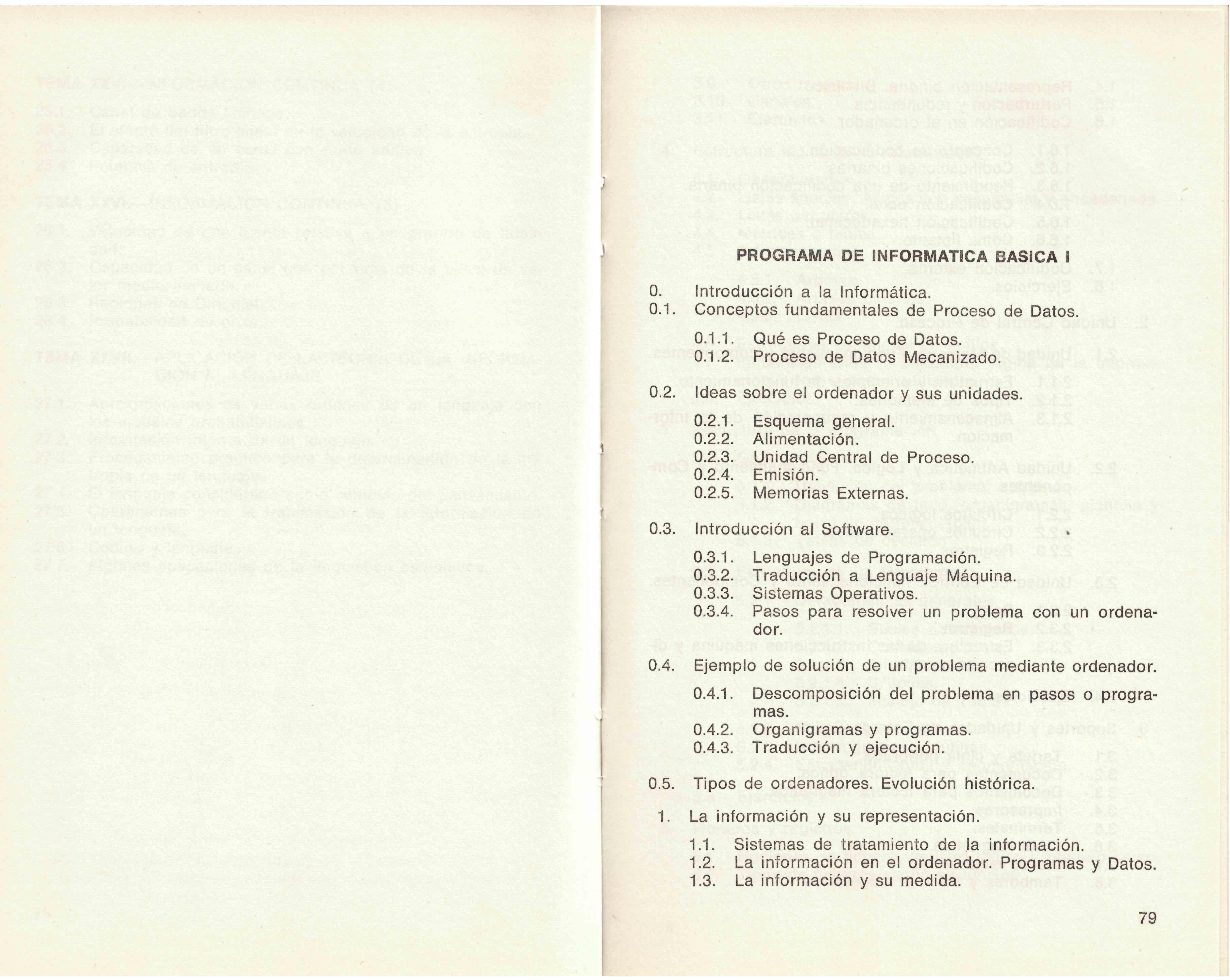 Nuestros orígenes: El Instituto de Informática de Madrid
